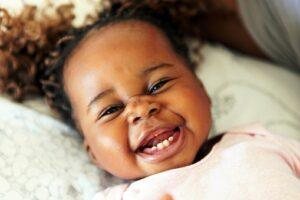 Toddler Show Her Teeth